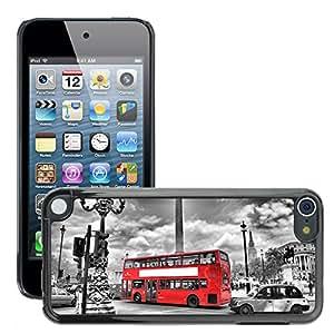 Print Motif Coque de protection Case Cover // V00002683 London Bus en // Apple ipod Touch 5 5G 5th 6 6G 6th