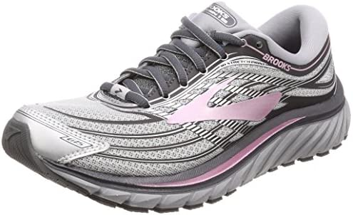 Brooks Women s Glycerin 15 Silver Grey Rose 8 B US  Buy Online at Low  Prices in India - Amazon.in 2b7b53cc8