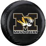 Missouri Tigers NCAA Spare Tire Cover (Black)