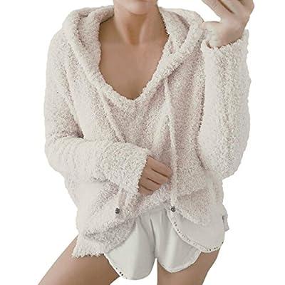 Women Sweatshirt, Realdo Warm Long Sleeve Hoodie Pullover Top Blouse