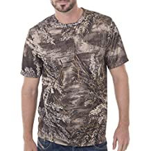 Realtree Mens Short Sleeve Performance T-Shirt
