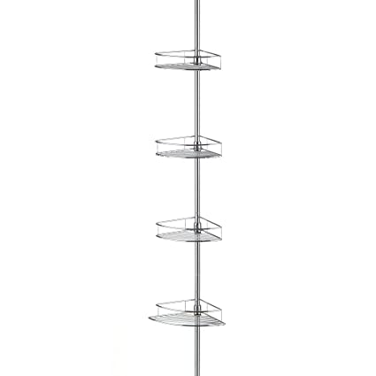 Amazon.com: Taymor Shower Caddy Tower with Four Baskets: Home & Kitchen