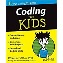 Coding For Kids For Dummies by McCue, Camille (2014) Paperback