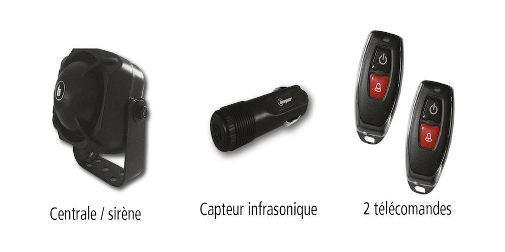 Beeper XRA1025 Alarma de Coche Universal