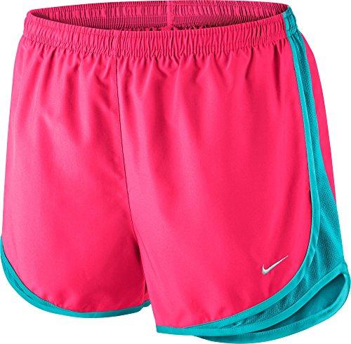 Nike Femmes Tempo Court Hyper Rose / Bleu Omega / Gris Loup