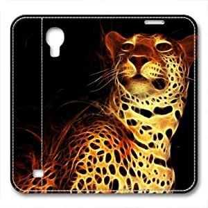 iCustomonline Leather Case for iPhone 6, Digital Leopard Ultimate Protection Leather Case for iPhone 6