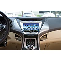 Farenheit F-85ELTR OEM Upgrade Multimedia Navigation with 8-Inch Monitor and Bluetooth for Hyundai Elantra 2011