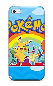 Premium Pokemon Back Cover Snap On Case For Iphone 5c