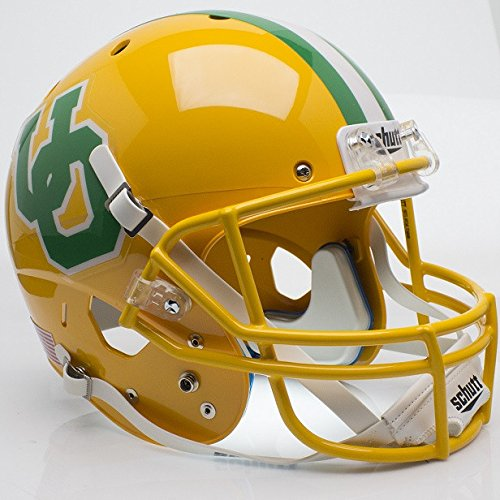 Oregon Ducks 84-94 Yellow Throwback Officially Licensed Full Size XP Replica Football Helmet