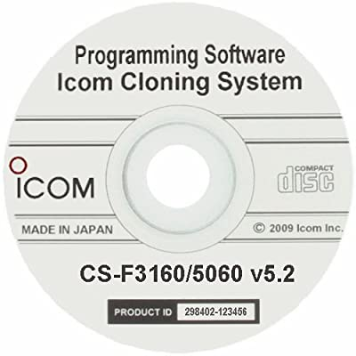 Icom Programming Software OEM F3161DS F3161S F4161S F5061D F6061D