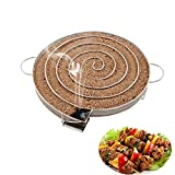 Stainless Steel Smoke Generator Barbecue Grill Cold Smoking Wood Chip Smoker Bacon Salmon Meat Burn Cooking Tools