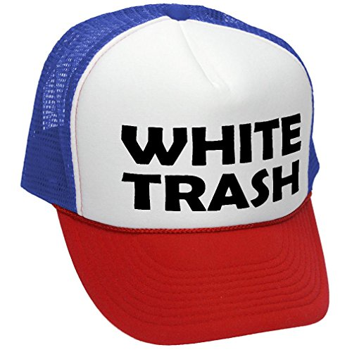 Redneck Lady Costume Prop White Trash Hat