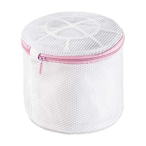 cdet Wäschesack Polyester Weiß Reißverschluss Saver Mesh Wash Korb Aufbewahrung Tasche Homeware Zubehör