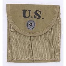 US GI WWII Dated M1 Carbine Khaki Stock Pouch. NORTHRIDGE INTERNATIONAL INC.