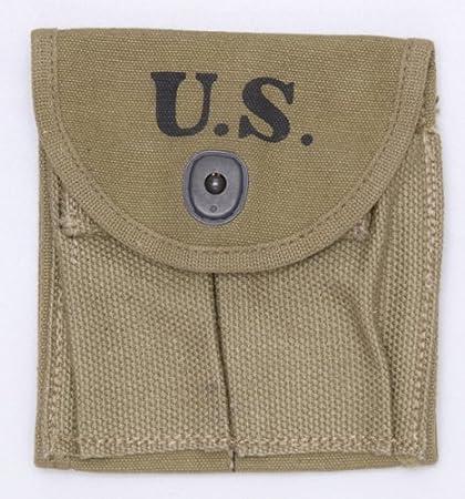 Amazoncom Us Gi Wwii Dated M1 Carbine Khaki Stock Pouch