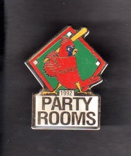 1992 St Louis Cardinals Party Rooms Hat Lapel Pin