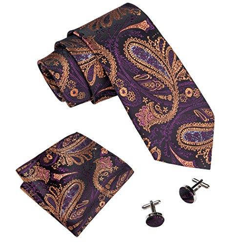 Handkerchief Mens Necktie Set - 4