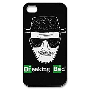 YUAHS(TM) Custom Case for Iphone 4,4S with Breaking Bad YAS031992