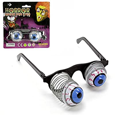 Hosfairy Halloween Party was a Surprise to the Eye Ball Party Glasses for Kids Party: Toys & Games