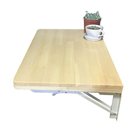 Amazon.com: Mesa de pared con hojas caudales ERRU- plegable ...