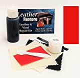 Leather Repair Kit with READY TO USE Color, RED