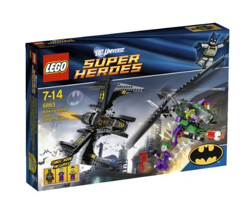 (LEGO (LEGO) dogfight in the Super Heroes Batwing Gotham City 6863)