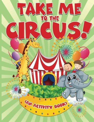 Take Me Circus Activity Book