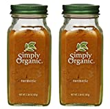 2 Packs of Simply Organic Turmeric Root Ground Certified Organic, 2.38 oz Review