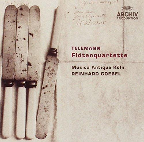 Telemann: Flötenquartette (flute (Telemann Flute)