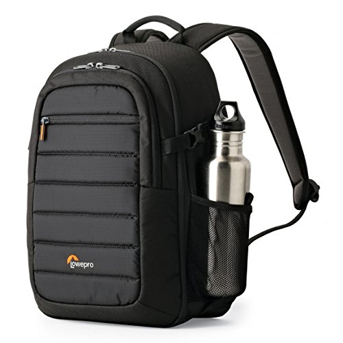 LowePro Tahoe BP 150. Lightweight Compact Camera Backpack for Cameras and DJI Spark Drone (Black). (Aw Black Backpack)