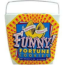 Creative Cookie Funny Themed Fortune Cookies, 2 oz