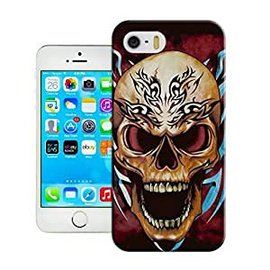 LarryToliver iphone 5/5s Customizable Skull art illustration Case Cover Skin Fit For Customizable Skull art illustration ses