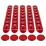 Grab Handle Inserts Cover+Push Button Knobs Cover