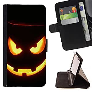 - Freaky Funny Pattern - - Premium PU Leather Wallet Case with Card Slots, Cash Compartment and Detachable Wrist Strap FOR Sony Xperia m55w Z3 Compact Mini King case