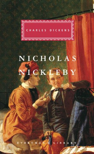 book cover of The Life and Adventures of Nicholas Nickleby