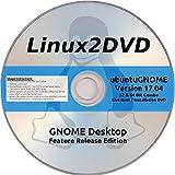 Ubuntu GNOME 17.04 - Latest Release Edition of Ubuntu with GNOME Desktop, 32 / 64 Bit Combo