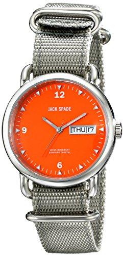 Jack Spade Men's WURU0029 Stillwell Analog Display Swiss Quartz Grey Watch (Jack Spade Watch)
