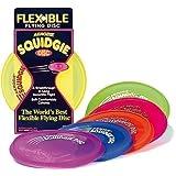 New Aerobie Squidgie Flexible Flying Disc Outdoor Fun Throwing Frisbee