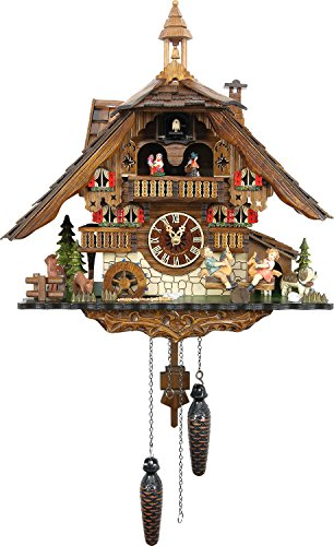 Cuckoo-Palace-Large-German-Cuckoo-Clock-The-Seesaw-Mill-Chalet-with-Quartz-Movement–with-Moving-Seesaw-Black-Forest-Clock