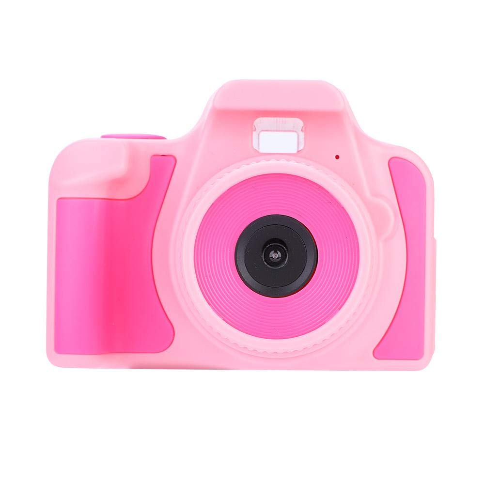 fosa キッズ カメラトイ 1920x1080 HD 2インチ LCD ミニ 子供用 屋外 デジタル アクションカメラ おもちゃ ビデオカメラギフト 男の子 女の子 幼児 microSDカード対応 32GB, fosay25wdexipr-01 B07JBD1R2B ピンク