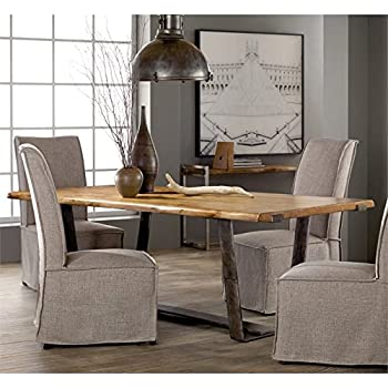 Amazon.com - Hooker Furniture Live Edge Dining Table - Tables