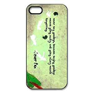 Fashion Peter Pan Case For Ipod Touch 5 Cover Personalized Quotes