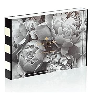 kate spade new york picture frame black stripe