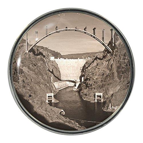 Hoover Dam Metal Pin Badge
