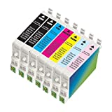 7 Pack Compatible INK Cartridge for
