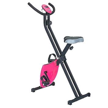 Bicicleta Estática Plegable, Bicicleta Spinning Rosa KF16-1