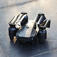 Hanbaili XT-1 Gravity Sensor Folding Aerial Drone + Storage Package,640P Wifi Camera Real-time Transmission Hand Throwing Take Off Drone with Headless Mode for Kids