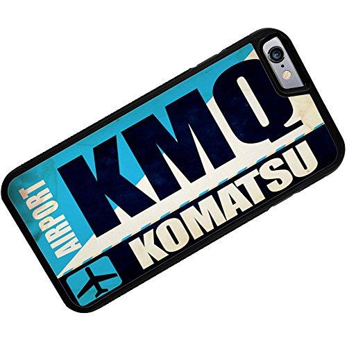 case-for-iphone-6-plus-airportcode-kmq-komatsu-neonblond