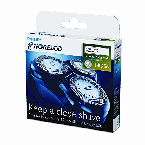 (Norelco HQ56 Reflex Plus Replacement Head, fdvb, bsd)