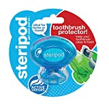 Steripod Clip-On Toothbrush Sanitizer (Single Pack Blue)